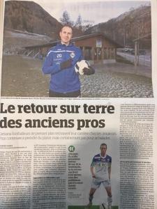 Nicolas Marazzi et le FC Printse Nendaz dans Le Ma...