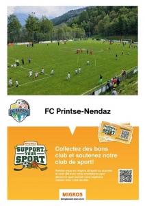 Le FC Printse-Nendaz participe à l'opération