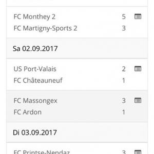 """La """"Une"""" a gagné son 2ème match de la saison 3-2..."""