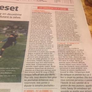 L'analyse de Fred Musaro dans le Nouvelliste du jo...