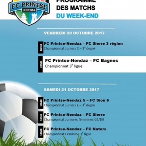 Le week-end du FC Printse-Nendaz commence dès ce ...