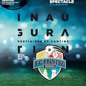Le FC Printse-Nendaz sera à la fête en 2018 avec...