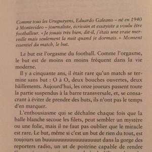 En attendant France-Uruguay, parole a un écrivain...