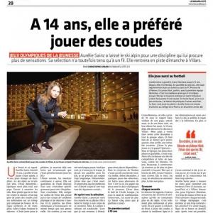 Une joueuse du FC Printse Val d'Hérens aux JOJ ...