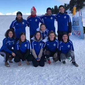 Une équipe mixte du FC Printse Nendaz au tournoi ...