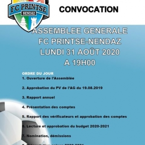 A tous les membres du FC Printse-Nendaz (joueurs, ...